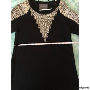 Knit sweater like dress